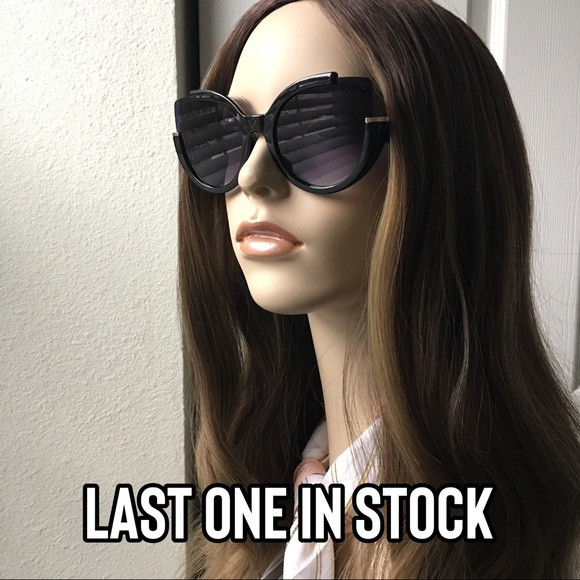 Accessories - 2 for $10 Oversized Fashion Cat Eye Sunglasses